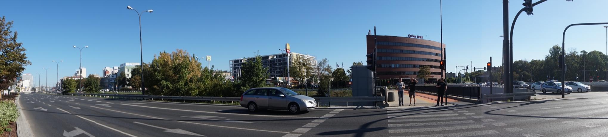 Trasa W-Z - hotel Qubus