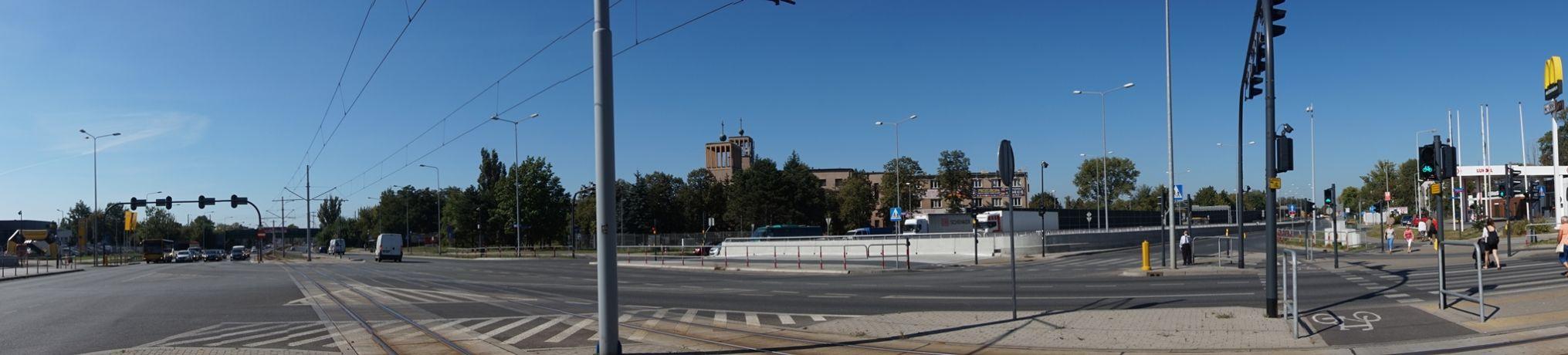 Pabianicka / Al. Jana Pawła II